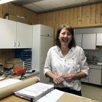 Fachberaterin Nicole Franke war Gastgeberin und kümmerte sich um das leibliche Wohl der Teilnehmerinnen.