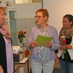 Präsidentin Linckh war angereist, um den Teilnehmerinnen persönlich zum erfolgreichen Abschluss zu gratulieren.