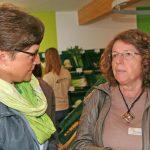 Auch die Vorsitzende der KreisLandFrauen Blaubeuren Brigitte Huober (li.) und Vorsitzende der KreisLandFrauen Esslingen Doris Hoinkis waren der Einladung nach Reichenbach gefolgt.