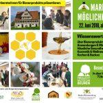 Markt der Möglichkeiten der Fachberaterinnen für Bienenprodukte