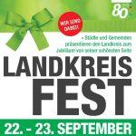 Landkreisfest 2018 - 80 Jahre Göppingen
